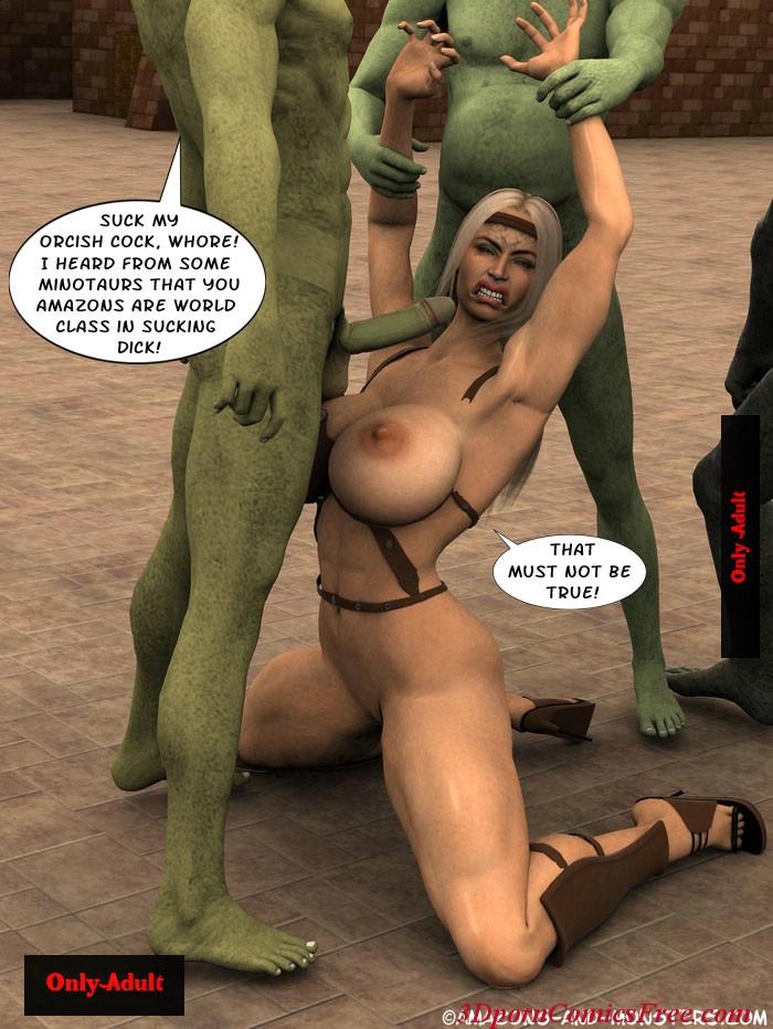 Порно с 3d орками комиксы 48861 фотография